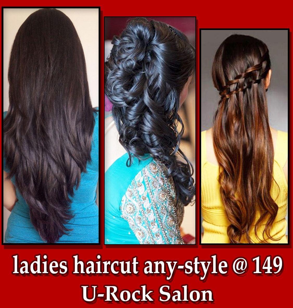 Female hair cut salon in thane wes